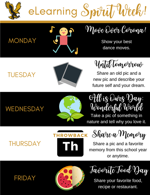 eLearning Spirit Week