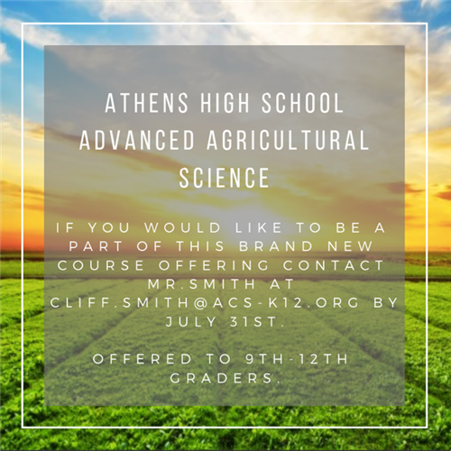 Advanced Agricultural Science