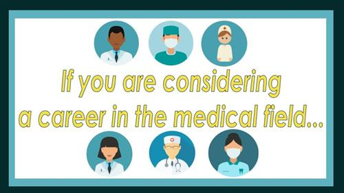 Are you interested in the medical field?