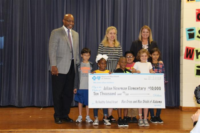 Two Schools Awarded Be Healthy Grants