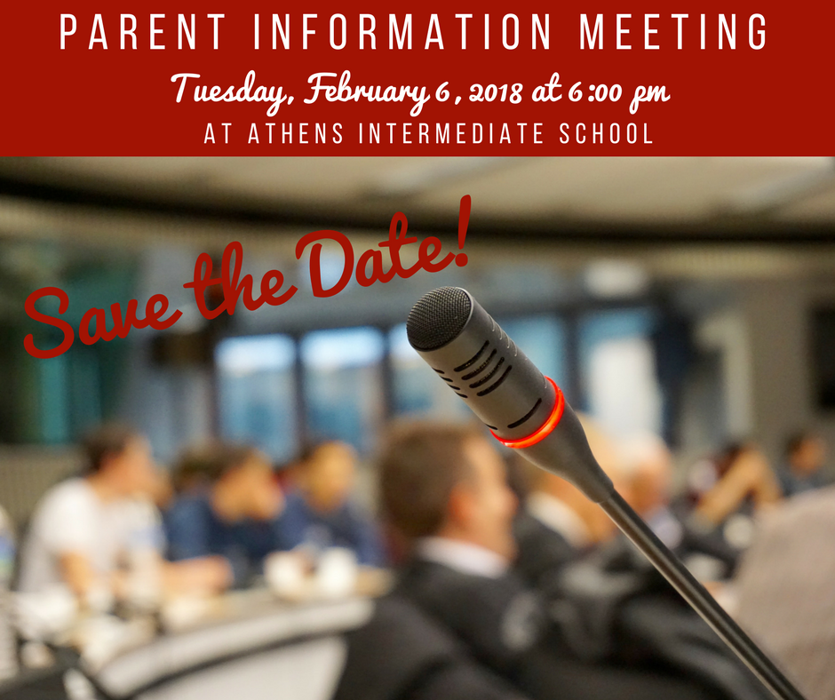 Community & Parent Information Meeting