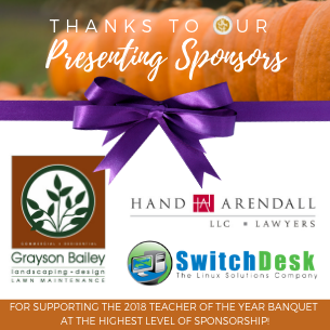 Teacher of the Year Sponsors