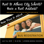 Summer Bus Registration