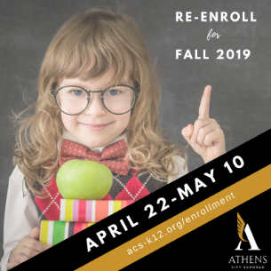 Time to Re-enroll for 2019-2020!
