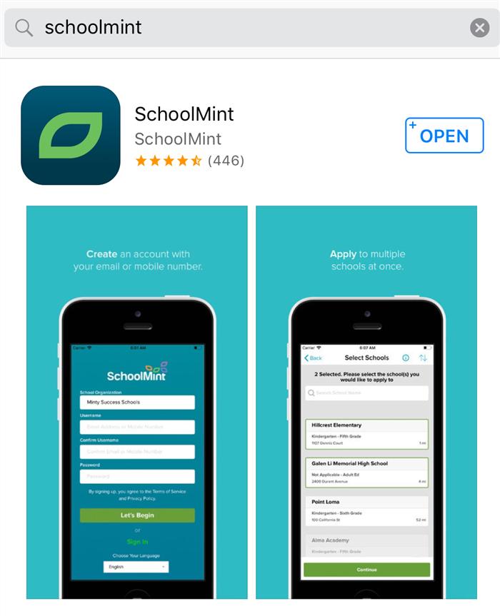 schoolmint app