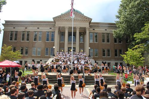 Pep Rally on the Square